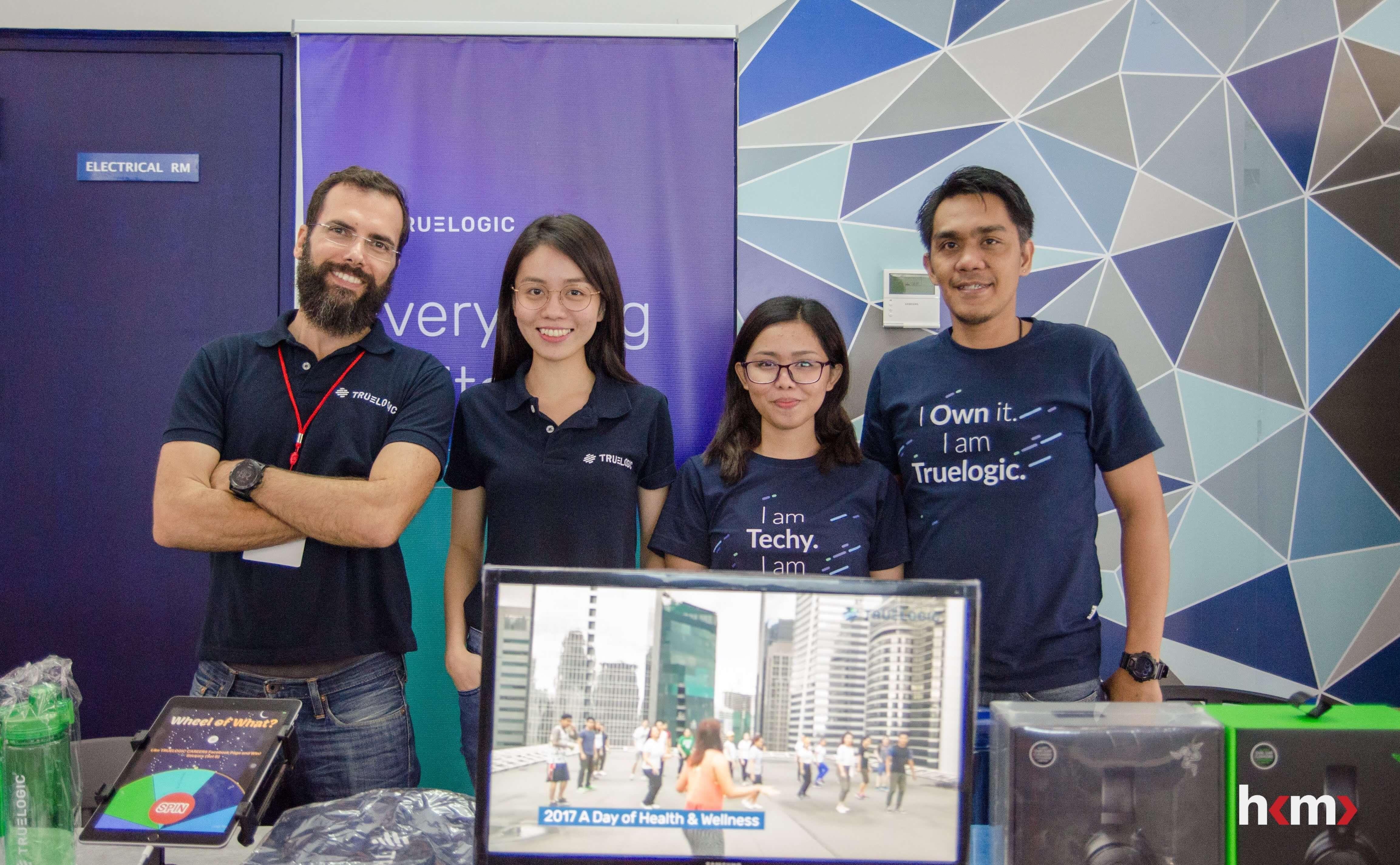 Hack Manila Event Partner, TrueLogic (CEO Itamar Gero and team)